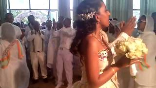 Assaye and Mahder Wedding 1