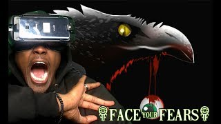 Can Crows REALLY Do This |  Face Your Fears Fowl Play VR Gear VR  REACTION