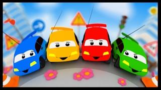 Chanson des couleurs Vroum Vroum Touni - Apprendre avec les voitures - Titounis