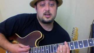 Green Day - Holiday - How to Play - Electric Guitar Lessons - American Idiot