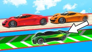 HOW TO CHEAT WIN EVERY RACE! (GTA 5 Funny Moments)