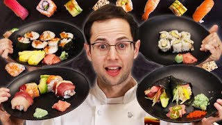 The Try Guys Make Sushi Rolls