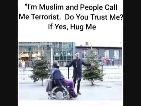 Eksperimen Sosial Bukti Kalau Masyarakat Percaya Bahwa Muslim Bukanlah Teroris