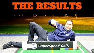 Quest For Clubhead Speed: Superspeed Golf (RESULTS)