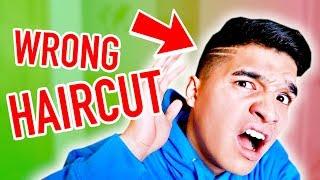Gave Me The WRONG HAIRCUT!