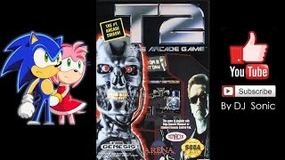 Terminator 2: Arcade Game [1992] (Sega) Walkthrough