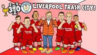 🔴💥3-0! LIVERPOOL TRASH CITY!💥🔵 (Salah Chamberlain and Mane!) (Parody Champions League Highlights)