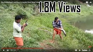 Big Snakehead catching in kerala River New Video 04-04-2017 Pencil Lure & Fish Lure