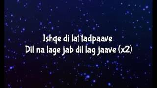 Ishqe Di Lat Tadpave Lyrics Video - Junooniyat Full Song