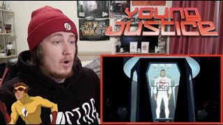 Young Justice 1x1 REACTION!!!