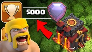 WE DID IT!!  WE ARE LEGENDS!  TH10 TROPHY PUSH to LEGEND LEAGUE ep10 | Clash of Clans