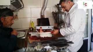 لذیذترین دل و جیگر ایران در بیجار استان همدان