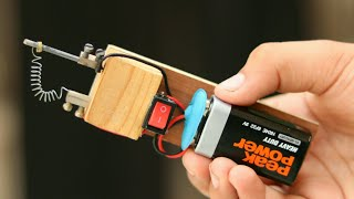 How to Make a Soldering Iron from 9V Battery
