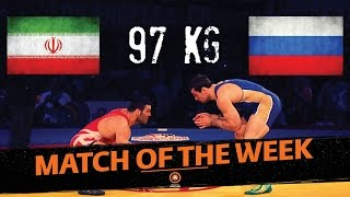 1st Place Match - 97Kg - Men's Freestyle Wrestling World Cup 2014