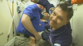 رسیدن گروه جدید فضانوردان به ایستگاه فضایی بین المللی
