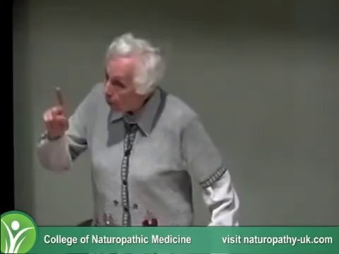 Gerson Therapy COMPREHENSIVE TALK by Charlotte Gerson 2003