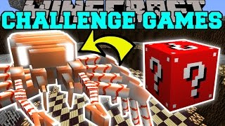 Minecraft: CRABZILLA CHALLENGE GAMES - Lucky Block Mod - Modded Mini-Game