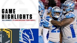 San Diego Fleet vs. Salt Lake Stallions | AAF Week 8 Game Highlights