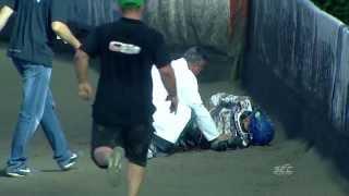 SEC Gdansk: incredible fight from Laguta & Vaculik crash