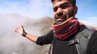 تجربة الوقوف على حافة البركان || Inside A Volcano