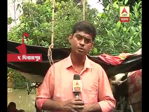 Xxx Mp4 Again Heavy Rain Flooded Different Areas Of South Dinajpur People Living On Boat With New 3gp Sex