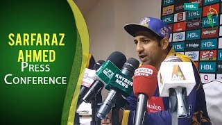 PSL 2017 Play-off 1: Sarfaraz Ahmed Press Conference