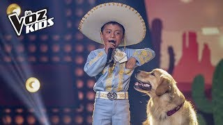 David Tarapues canta Corriente y Canelo - Rescates   La Voz Kids Colombia 2018