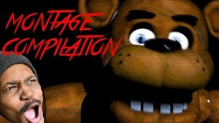 Five Nights At Freddy's Montage Compilation! | 8000 Subscriber Special!
