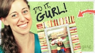 DIY Magazine Picture Frame! - Do It, Gurl