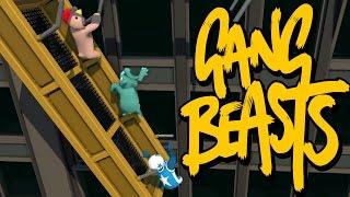 GANG BEASTS ONLINE - You Kill Me?  I Kill You Back!!!