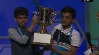 Scripps National Spelling Bee Ends in a Tie