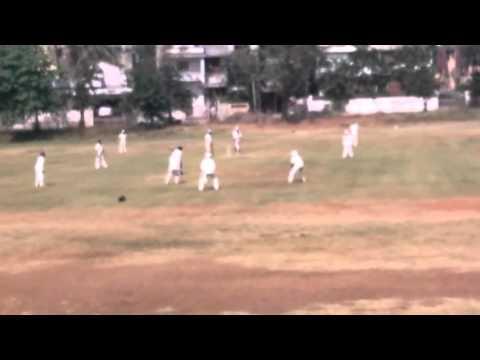 Upcoming fast bowler Ashutosh Kulkarni