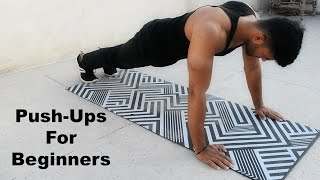 How to do Push-Ups For Beginners : Best Step-By-Step Guide
