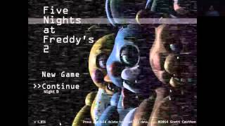 Five Nights at Freddy's 2: Rare death screen reaction (Toy Bonnie)
