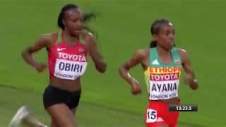 RE-LIVE!!! 5000m womens FINAL World Championships 2017 FULL RACE!!!