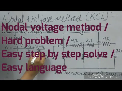 Xxx Mp4 Simple Stepwise Solve Ckt Dig By KCL Nodal Voltage Method 3gp Sex