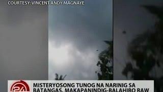Pagasa: Misteryosong tunog sa Batangas, posibleng galing sa mga ibon at alon ng dagat