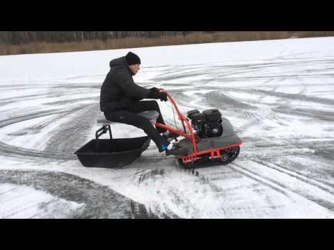 снегоход для рыбалки самоделки