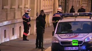 لحظة وصول الحريري إلى منزله في باريس