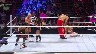 The Great Khali & Natalya vs. Dolph Ziggler & AJ  Lee: SmackDown, Jan. 11, 2013