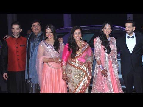 Sonakshi Sinha's Brother's Wedding: Narendra Modi, Amitabh Bachchan, Aishwarya Rai, Ambanis