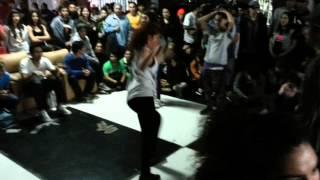 Marcela y Gazal Campeonas House Dance Cypher free 20 Octubre 2012