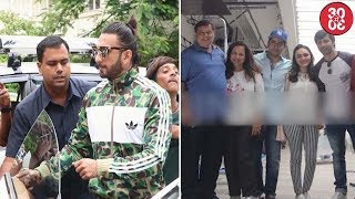 Ranveer Gets Mobbed By Fans Outside A Club   Varun & Dhawan Family Celebrate David