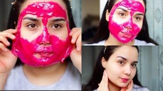 وصفة فعالة لازالة شعر الوجه و الرؤوس السوداء و البيضاء في البيت