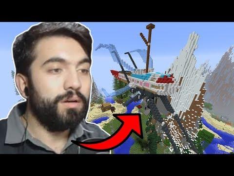 SİNEĞE BENZEYEN UÇAN TUHAF ŞEY !!!   Minecraft: ADA HAYATI #4