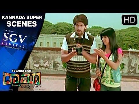 Yash acts like a journalist   Kannada Scenes   Radhika Pandith, Sathish