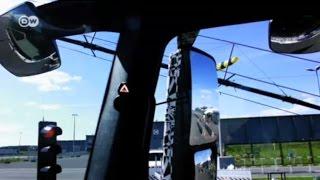 نظام أمان آلي لتقليل حوادث حافلات وشاحنات مرسيدس