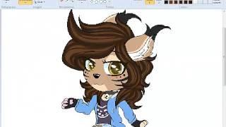 SpeedPaint(FURRY)- Commission Chibbi Furry