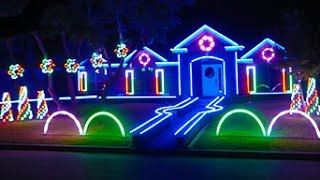 2015 Johnson Family Dubstep Christmas Light Show - Featured on ABC's The Great Christmas Light Fight