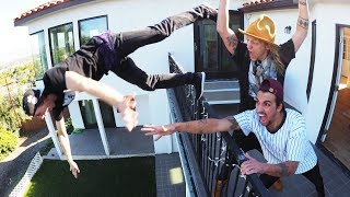 Parkour off the Balcony!